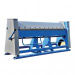 Mazanek - manual bending machine for ZGR 2500/2 sheets