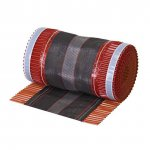Bud Mat - modular metal roof tile - ridge tape