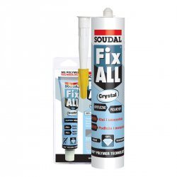Soudal - sealant - Fix All Crystal hybrid adhesive